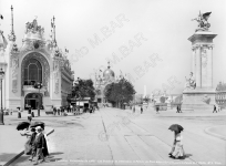 PARIS, EXPOSITION UNIVERSELLE,1900